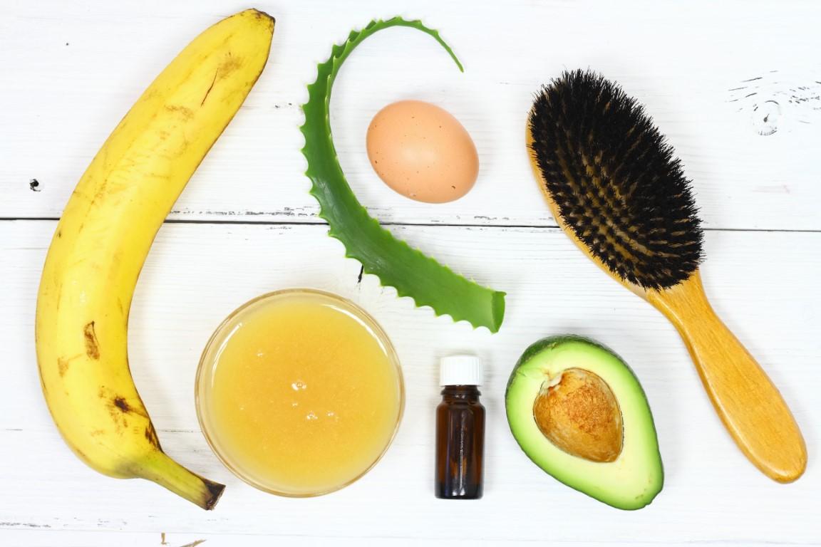 masque cheveux hydratant œuf banane miel