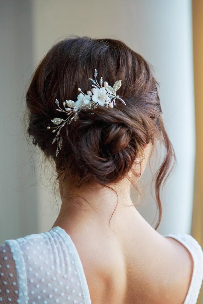 coiffure mariage cheveux mi-longs