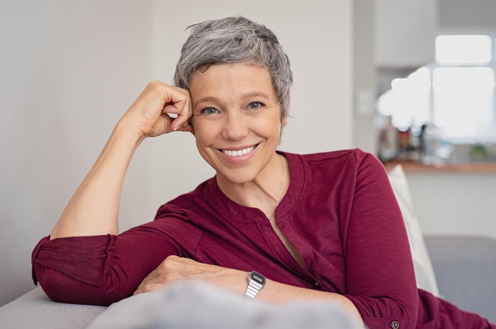 coupe courte pour femme de 60 ans